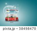 France Landmark Global Travel background. 38498470