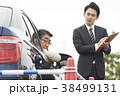 運転するシニア 自動車教習所 38499131
