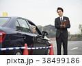運転するシニア 自動車教習所 38499186
