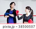 若い男女(ボクシング) 38500507