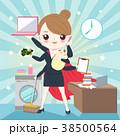 ビジネス 職業 漫画のイラスト 38500564