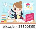 ビジネス 職業 漫画のイラスト 38500565