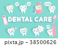 デンタル 歯科 デンタルケアのイラスト 38500626