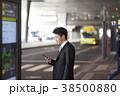 空港のビジネスマン 38500880