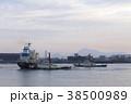 タグボート 港 海の写真 38500989