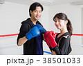 若い男女(ボクシング) 38501033