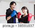 若い男女(ボクシング) 38501037