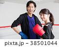 若い男女(ボクシング) 38501044