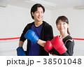 若い男女(ボクシング) 38501048