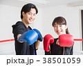 若い男女(ボクシング) 38501059