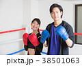 若い男女(ボクシング) 38501063
