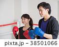 若い男女(ボクシング) 38501066