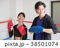 若い男女(ボクシング) 38501074