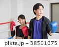 若い男女(ボクシング) 38501075