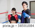 若い男女(ボクシング) 38501084