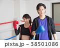 若い男女(ボクシング) 38501086