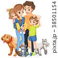 子供 ファミリー 家庭のイラスト 38501154