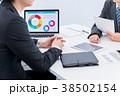ビジネスマン ビジネス 商談の写真 38502154