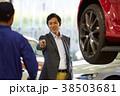 自動車整備 ピット 依頼を受ける整備士 38503681