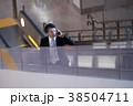 空港のビジネスマン 38504711