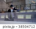 空港のビジネスマン 38504712
