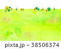 背景素材 木 植物のイラスト 38506374