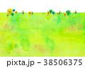 背景素材 木 植物のイラスト 38506375