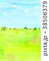 背景素材 木 植物のイラスト 38506379