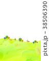 背景素材 木 植物のイラスト 38506390