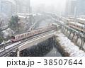 御茶ノ水 雪 丸ノ内線の写真 38507644