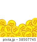 ビットコイン 仮想通貨 デジタル通貨のイラスト 38507745