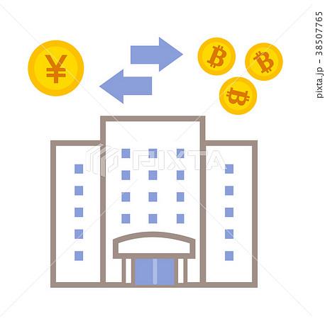ビットコイン取引所 イラスト