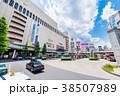 八王子駅 北口 都市風景の写真 38507989