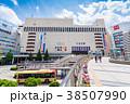 八王子駅 北口 都市風景の写真 38507990