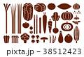 野菜イラスト_バリエーションE 38512423