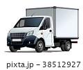 ベクトル トラック テンプレートのイラスト 38512927