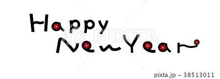年賀素材 Happy New Year  38513011