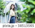 女性 スマホ 若い女性の写真 38513565