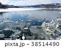 北海道 大沼公園 湖の写真 38514490