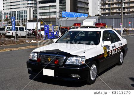 警視庁高速道路交通警察隊のレーダー搭載パトカー 38515270