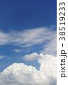 空 青空 雲の写真 38519233