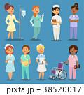 ベクトル ナース 看護士のイラスト 38520017