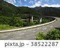 雷電廿六木橋 ループ橋 国道140号の写真 38522287