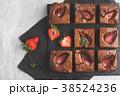 ブラウニー ケーキ チョコケーキの写真 38524236