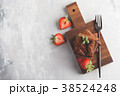 ブラウニー ケーキ チョコケーキの写真 38524248