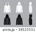 フード 頭巾 ずきんのイラスト 38525531