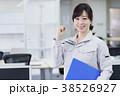 女性 ビジネスウーマン 建設業の写真 38526927