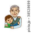男の子とおじいちゃん 38528699