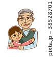 女の子とおじいちゃん 38528701