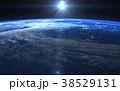 地球の日の出 perming 3DCGイラスト素材 38529131